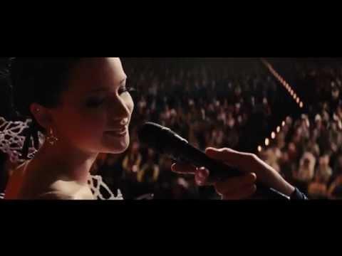 ковер на пианино на саундрек OST голодные игры Jennifer Lawrence
