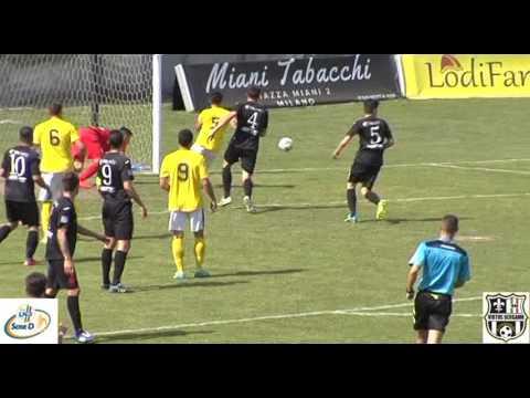Cavenago Fanfulla-Virtus Bergamo 1909 1-1, 15esima giornata di ritorno Girone B Serie D 2016/2017