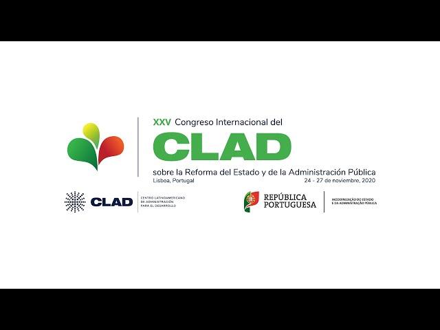 Inauguración XXV Congreso Internacional del CLAD, Lisboa 2020