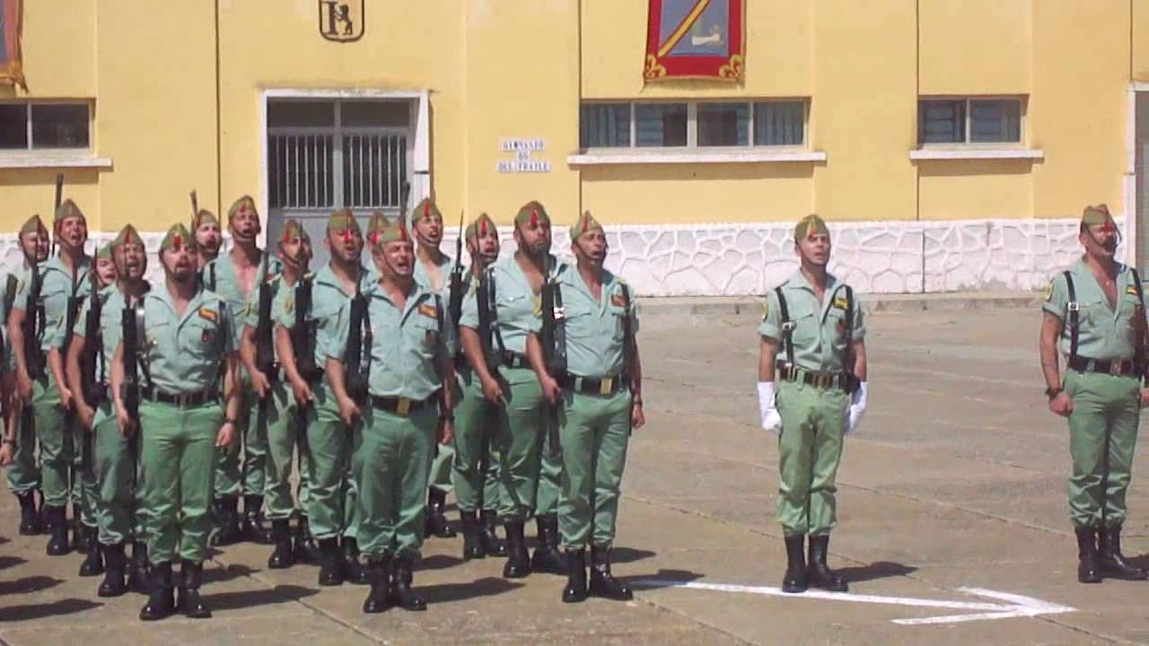 La Legión, 2 Encuentro Veteranos II Tercio Duque de Alba, 23 abril ...