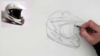 drawing a helmet (quick version)
