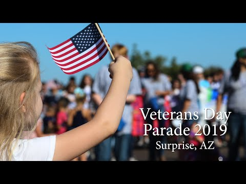 Veterans Day Parade 2019 video thumbnail