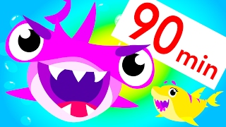 Baby Shark Attack, Food Fight, Twinkle Twinkle and more! | Kids Songs Compilation | by Little Angel