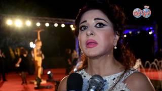 أخبار اليوم   مادلين طبر تتحدي إدارة مهرجان القاهرة السينمائي بفستانها الأبيض