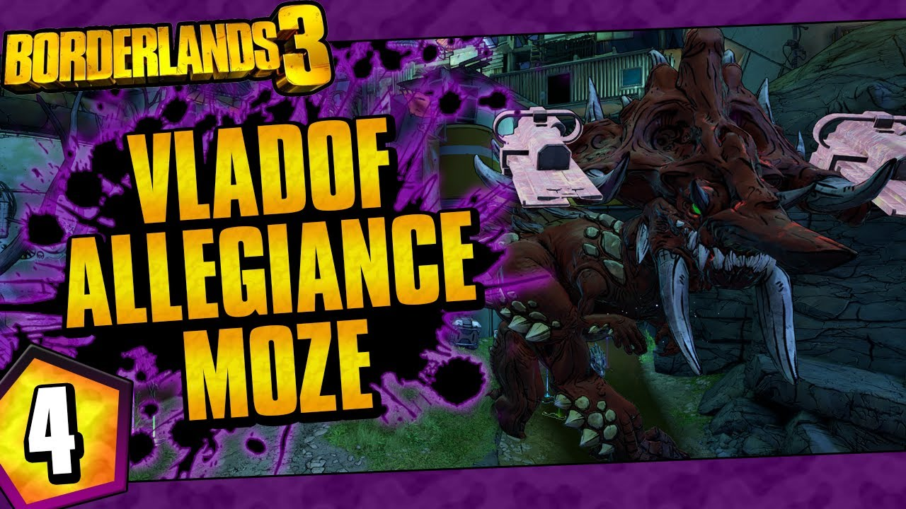 Borderlands 3 | Vladof Allegiance Moze Funny Moments And Drops | Day #4 thumbnail
