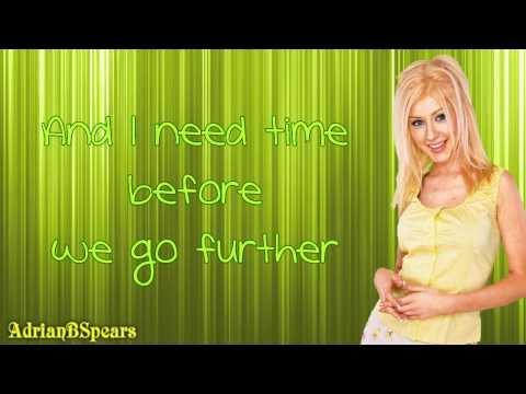 Christina Aguilera - Don't Make Me Love You (Till I'm Ready) Lyrics