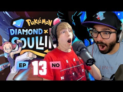 "Pokemon Diamond & Pearl Soul Link Randomized Nuzlocke W/ Astroid EP 13 - ""HUG THY PUPPY!"""