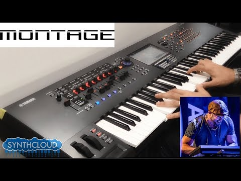yamaha montage 7 jamming by enzo messina synthcloud. Black Bedroom Furniture Sets. Home Design Ideas