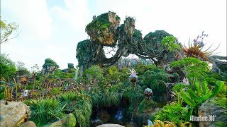 Full Tour of Avatar Land in Disney's Animal Kingdom at Walt Disney World