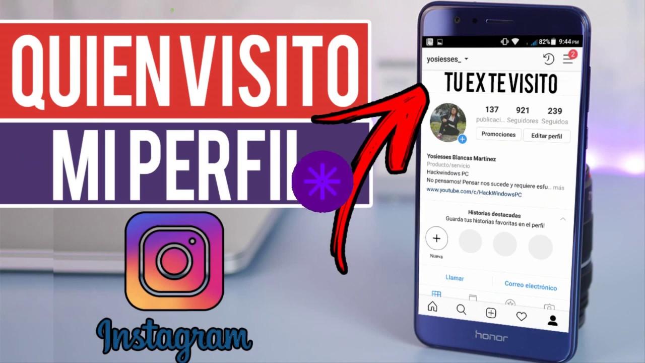 Como Saber Quien Visita Tu Perfil De Instagram Youtube