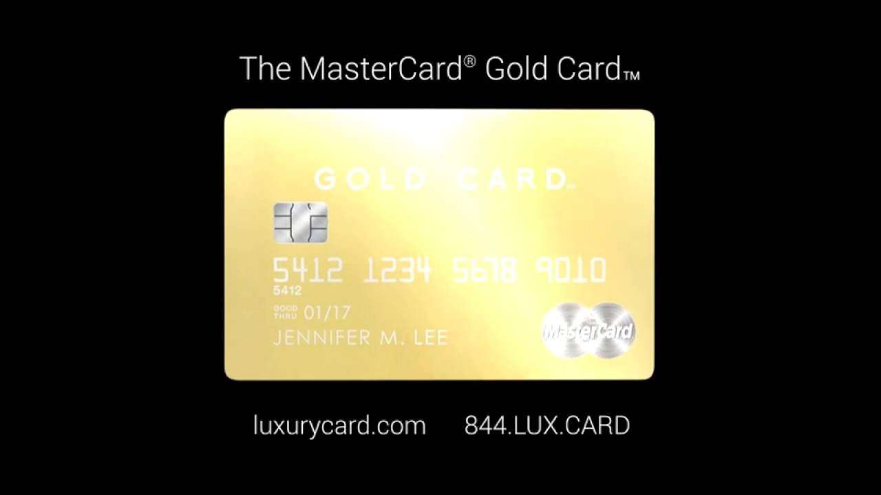 the mastercard gold card made with 24k gold youtube. Black Bedroom Furniture Sets. Home Design Ideas