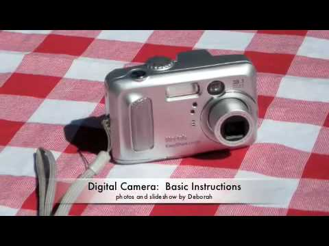 Digital Camera Basic Instructionsm4v Youtube