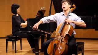 Derek Louie, cello. Elgar Cello Concerto in E minor, Op. 85, movement 3 - adagio