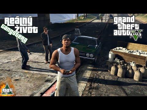 [GTA] - Reálný Život Gangstera #15 JSEM AGENT V UTAJENÍ! (GTA 5 Real Life Thug Mod - Česky)