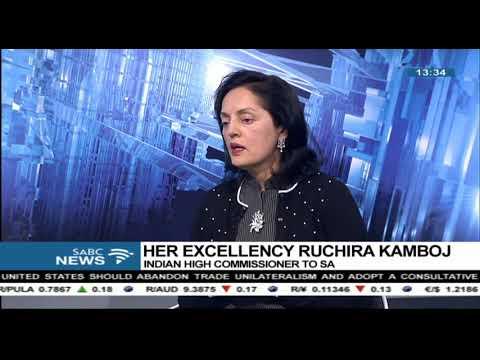 The first ever India-SA Business Summit - Ruchira Kamboj