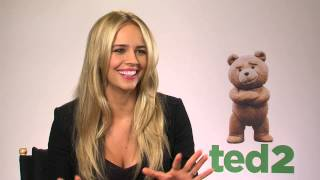 Why Jessica Barth did not dare to prank Mark Wahlberg - Ted 2