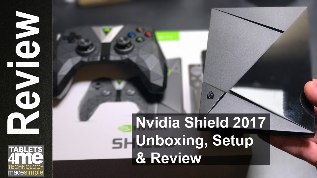 ces 2017 real unboxing review of the new nvidia shield 2017
