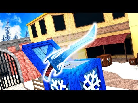 NEW CHRISTMAS GODLY KNIFE?! (Roblox MM2)