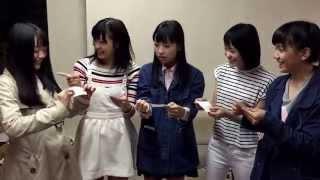 ミルクス4/29宣材撮影前日の写真センター争奪くじ引き大会の様子をキャッチ!!