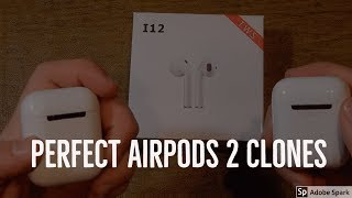 Best Fake Airpods 2 to Buy! - i12 TWS Giveaway #airpods #fakeairpods #twsi12 #fake #airpodclones