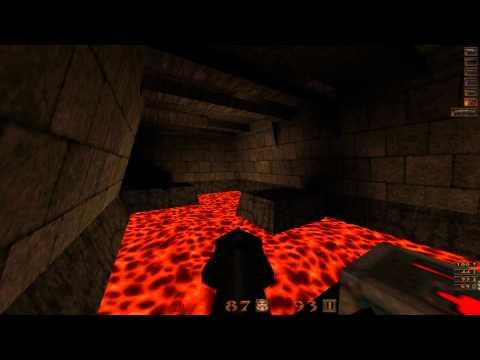 Quake Mission Pack: 2 Dissolution of Eternity - 13 Blood Sacrifice - All Secrets - 1080p 60fps  