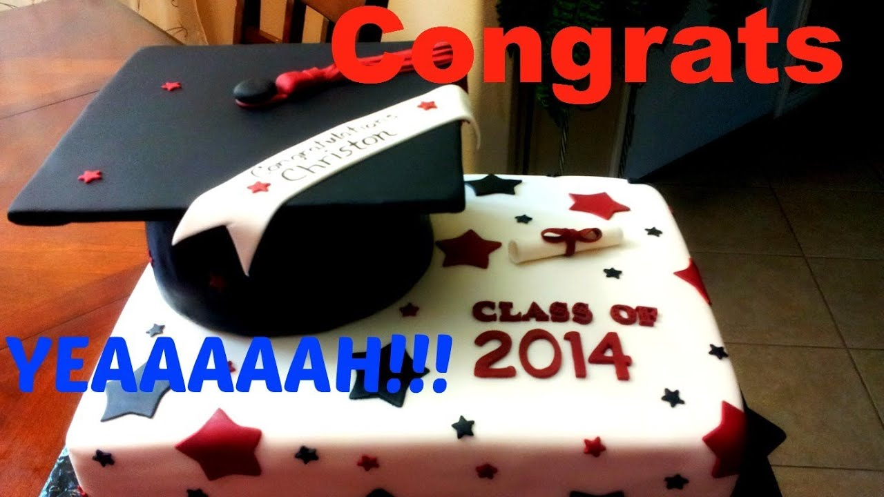 Make A Graduation Cap Cake