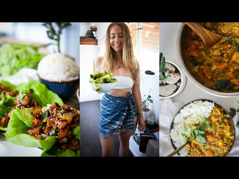 WHAT I EAT IN A WEEK // 7 WEIGHT LOSS FRIENDLY DINNER RECIPES