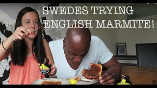 SWEDISH PEOPLE TRY ENGLISH MARMITE !
