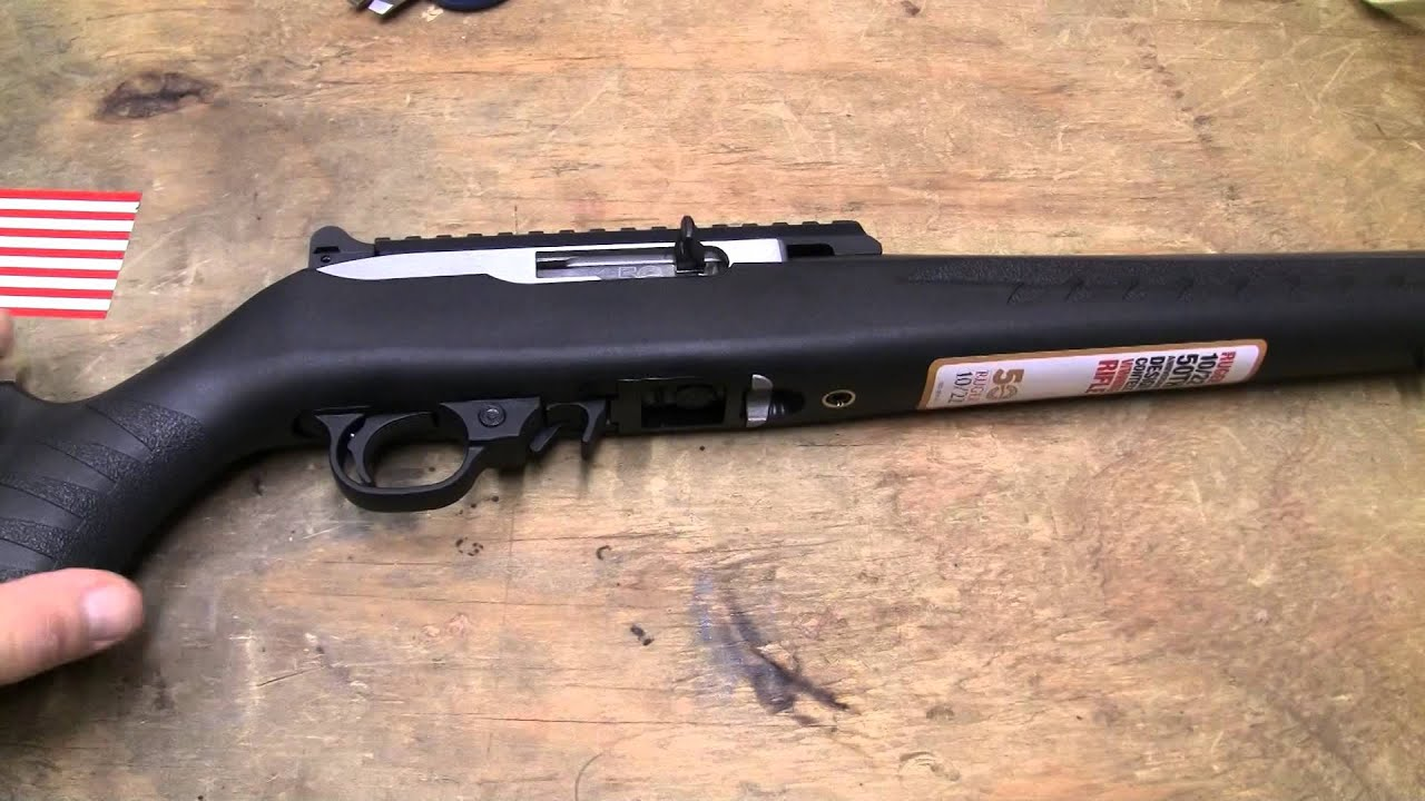 Ruger 10 22 50th anniversary design contest winning rifle review part