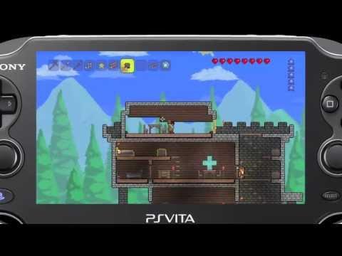 Terraria for VITA - Japanese Announcement Trailer
