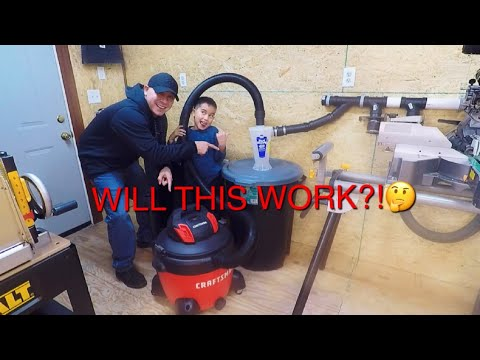 WILL A SHOP VAC WORK AS A DUST COLLECTOR??