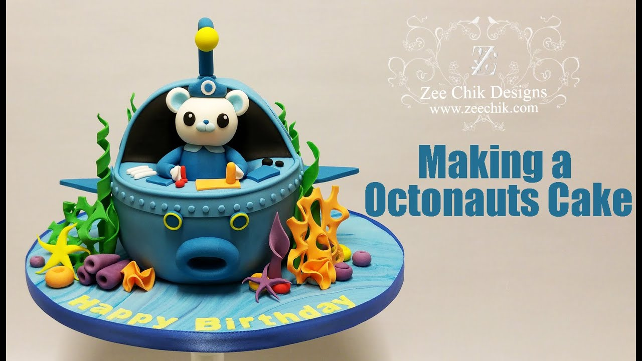 How To Make A Octonauts Cake