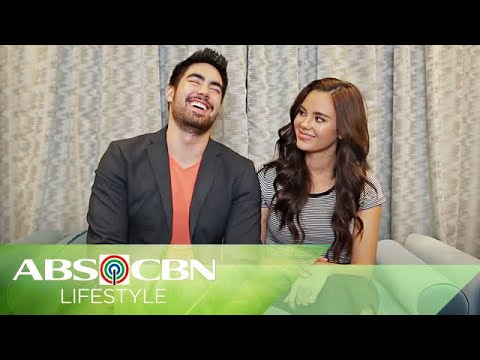 "Catriona Gray and boyfie Clint Bondad Play ""Fill In The Blanks' Part 2"
