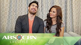 """Catriona Gray and boyfie Clint Bondad Play """"Fill In The Blanks"""" Part 2"""