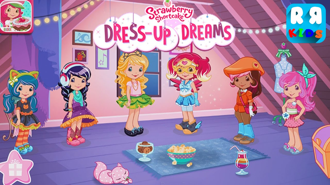 Strawberry Shortcake Dress Up Dreams (By Budge Studios ...