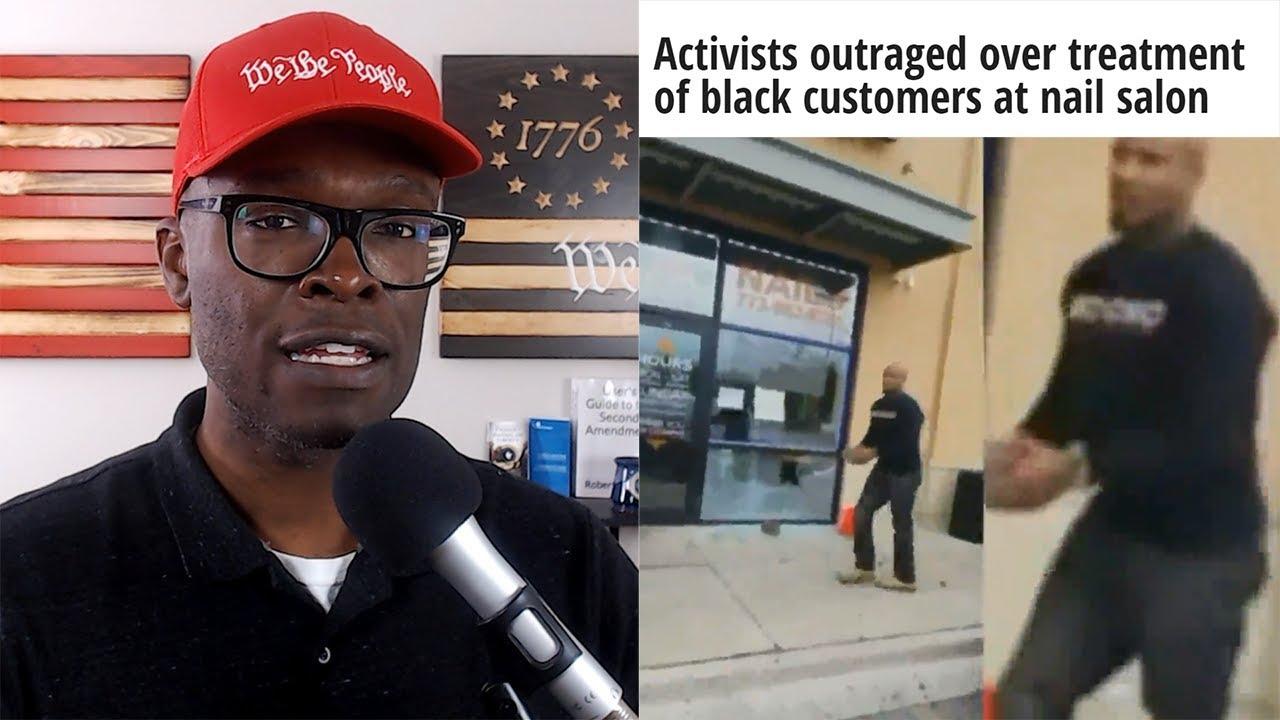 "ABL Chicago ""Activist"" Throws BRICKS Through Asian Nail Salon Windows - WHY?"
