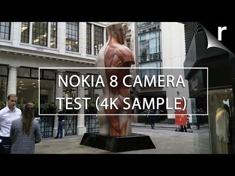Nokia 8 Camera Test Sample 4K Video