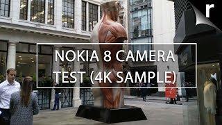 Nokia 8 Camera Test Sample (4K Video)