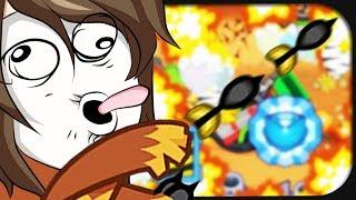 Ich kleistere das Kürbisfeld mit Scheiße zu. ☆ Bloons Tower Defense 5