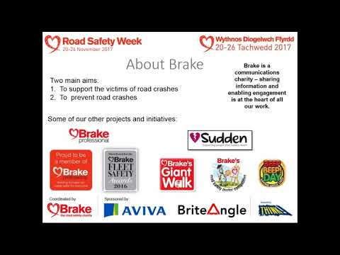 Taking part in UK Road Safety Week 2017