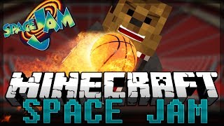 Minecraft Space Jam PVP on the Moon (Galacticraft Mod)