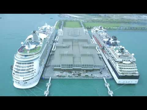 Marina Bay Cruise Center Singapore - DJI Mavic Pro