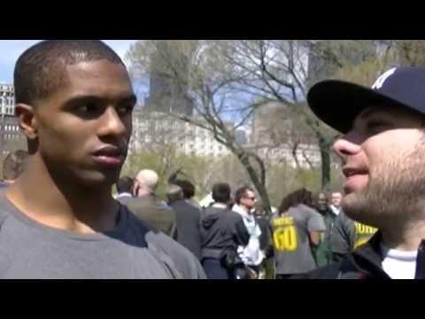Byron Jones Interview Dallas Cowboys At 2015 NFL Draft