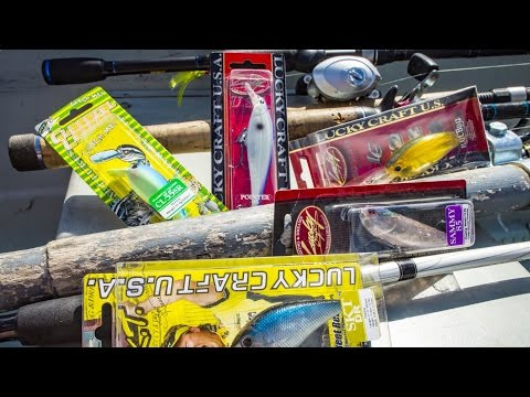 Fishing with Lucky Craft Lures