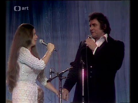 Johnny Cash And June Carter Cash - Jackson  in Prague