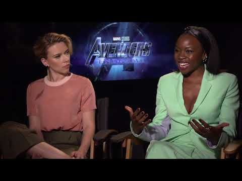 Avengers Endgame Danai Gurira & Scarlett Johansson Interview