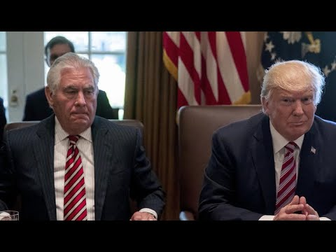 Rex Tillerson and President Trump\'s policy disagreements