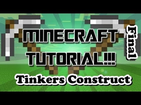Picareta - Tutorial Tinkers Construct - Final (Minecraft 1.6