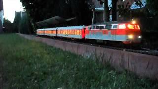 Piko G BR 218 mit Loksound auf der Steinhuder Gartenbahn