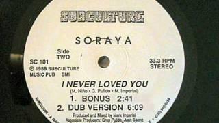 Soraya - I Never Loved You : Bonus + Dub Version